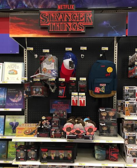 Stranger Things Netflix retail display